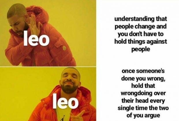 Leo meme, astrology meme, zodiac