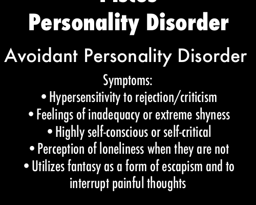 pisces memes | avoidant personality disorder on Tumblr