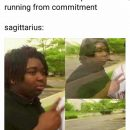 Sagittarius meme, astrology meme, zodiac