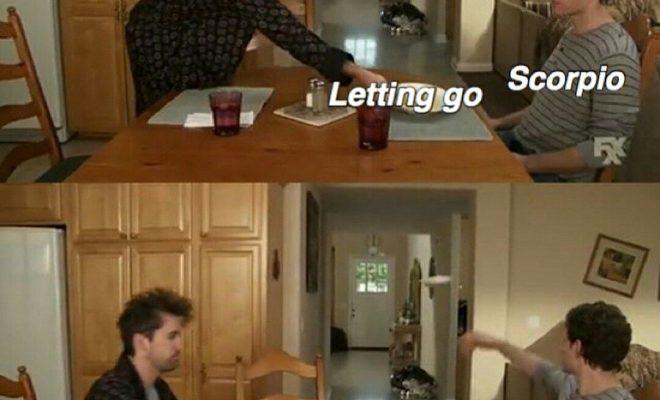 Scorpio meme, astrology meme, zodiac