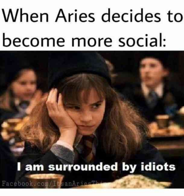 12 Memes That Perfectly Sum Up What It S Like To Be An Aries Woman Zodiac Memes