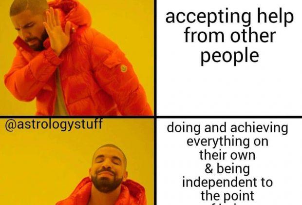 Aries meme, astrology meme, zodiac