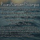 pisces cancer scorpio Pisces World tumblr