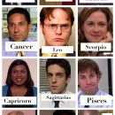 The office characters as zodiac signs
