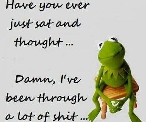 funny kermit cancer meme