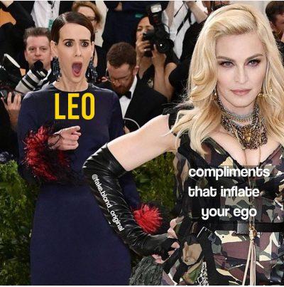 Leo meme