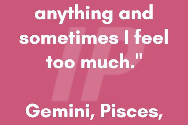 """""""Sometimes I do not feel anything and sometimes I feel too much."""" #Gemini explore…"""