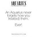Never!!!!!! #Aquarius …this is crazy true and we will just act accordingly