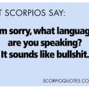 Shit Scorpios Say