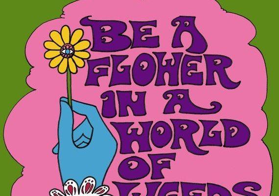 Be A Flower Art Print Illustration by Dawn Aquarius