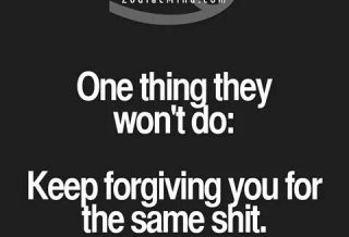 Even if I say I forgive you I'm lying. I'll forgive you if you…