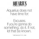 Zodiac Aquarius Facts