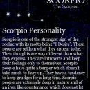 I'm proud to be a Scorpio but I must learn to be the positive…