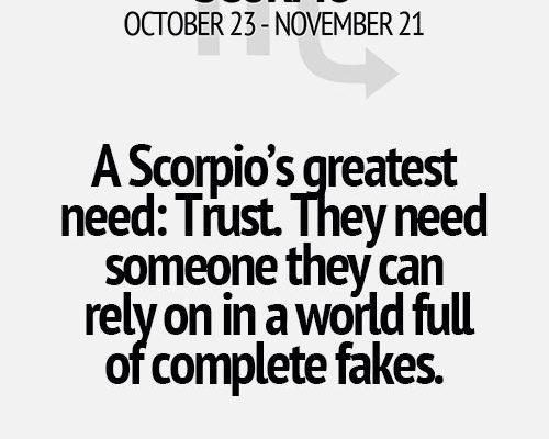 All of these Scorpio horoscopes / quotes are true for me