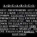 Loove being an Aquarius!