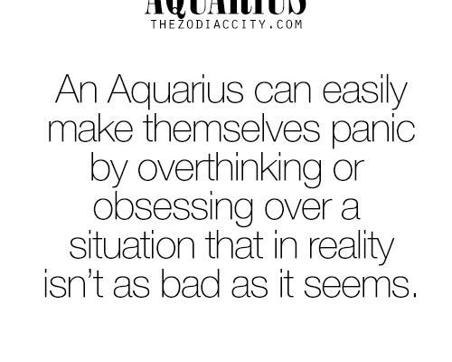 ZODIAC AQUARIUS FUN FACTS | more about your zodiac sign here