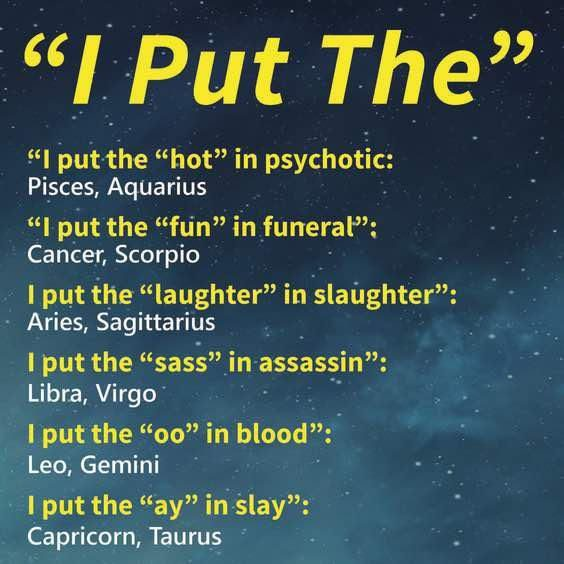 Horoscope Memes Quotes Zodiac Memes