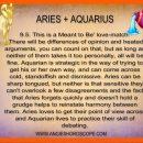Aries + Aquarius Compatability