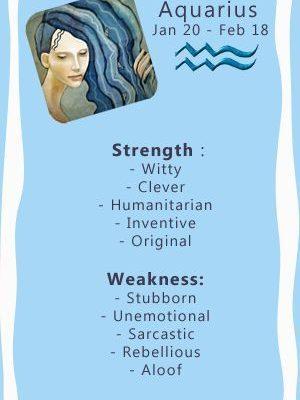 Aquarius: Strengths vs Weaknesses