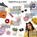 """Sagittarius as a teen️ Which should I do next? *me: """"puts no tears left…"""