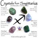 Sagittarius Birthstones Crystal Set
