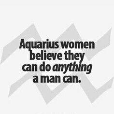 Being Aquarius!