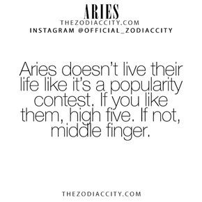 Zodiac Aries Facts! – For more zodiac fun facts, click here