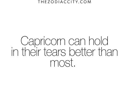 So true! I'm so hard on that to share my tears with anyone. It's…