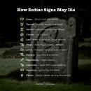 This is how zodiac signs may die. Beware! #dailyhoroscope #todayhoroscope #horoscope #zodiacsigns