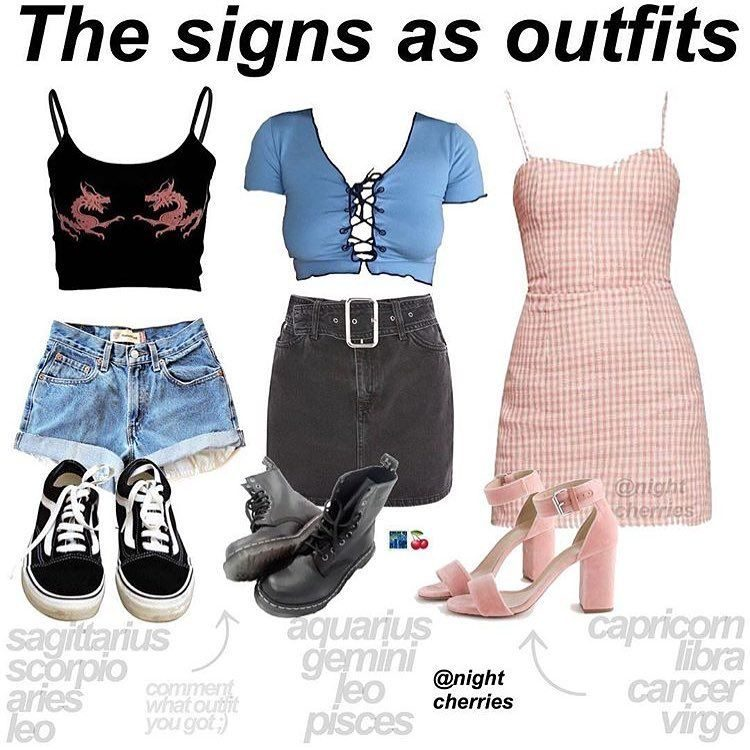 1st and 3rd outfit , Zodiac Memes