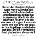 What you need to know about Capricorn women. For more zodiac fun facts, clickhere