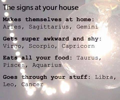 If you're into simple astrological sayings, follow Kevin Thompson-signs-nonsense