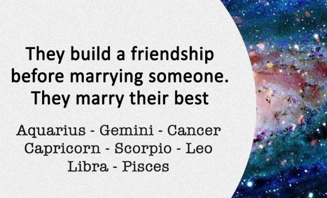 Signs Who Marry Their Best Friends –