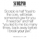 Zodiac Scorpio Facts. For more information on the zodiac signs, click here