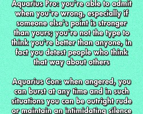 Daily updated fun facts on the zodiac signs