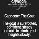Fun facts about your sign here #CapricornZodiacStarSignHoroscope