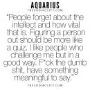 Zodiac Aquarius Facts. For more zodiac fun facts, click here