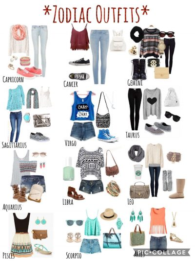 Zodiac Signs #ZodiacPower Zodiac Outfits