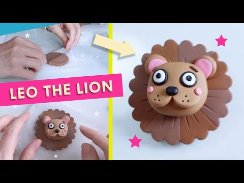 Polymer Clay Astrology Sign Tutorials | Leo the Lion Zodiac Pin Badge