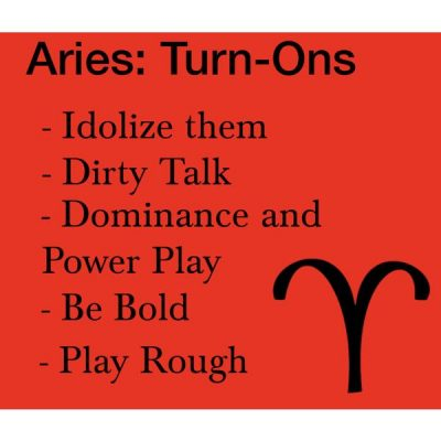 Aries Turn-Ons by thebluestchu on Polyvore featuring art, zodiac and Aries