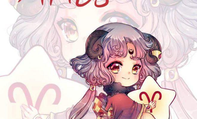 Magical Zodiac sign chibi aries by MIAOWx3