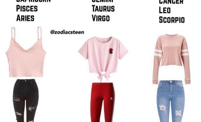 Capricorne ️ vraiment Nice comme outfitt
