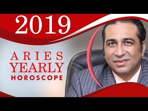 Yearly Horoscope   Aries Yearly Horoscope 2019   Astrology Predictions Annual Zodiac Future in Urdu