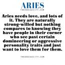 """zodiaccity: """" [REPOST] — Aries zodiac facts. """""""