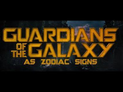 GOTG as zodiac signs