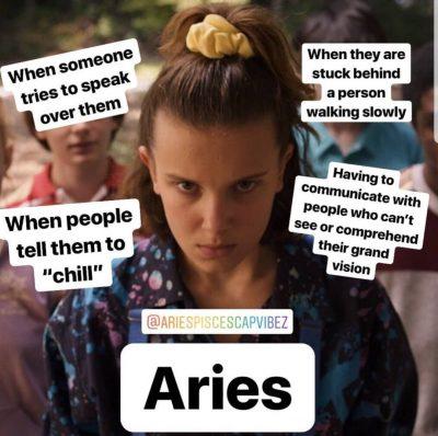 "crackhead energy on Instagram: ""Haaha yeet . . #aries #ariesmemes #astrology #astromemes #memes"