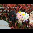 Zodiac Sign Aries, Cute Sheep Plush – PolkadottiePie Felt Craft Tutorial