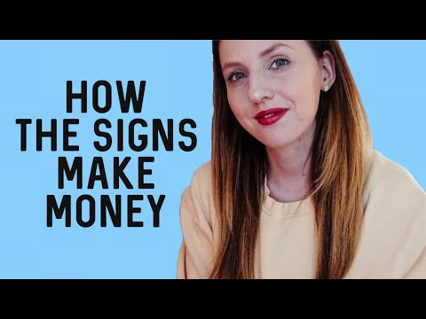 How The Zodiac Signs Make MONEY! Based On Your SECOND HOUSE Ruler   Hannah's Elsewhere