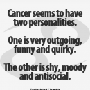 Cancer seems to have two