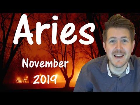 Aries November 2019 Horoscope ♈️ Gregory Scott Astrology